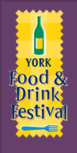 York Food and Drink Festival Logo