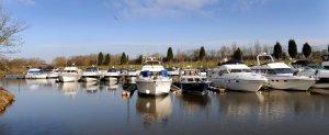 Beautiful York Marina in Naburn.