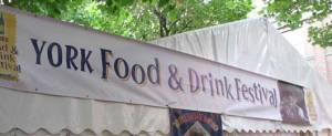 York food and drink festival 2013 banner