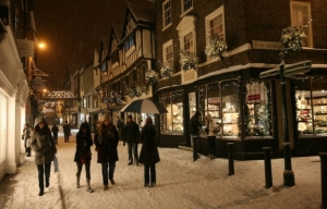 late night shopping every Thursday in York