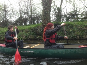 Canoeing in York with uDare