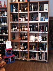 Le Langhe York, huge choice of Italian wines