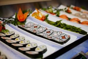 Sushi at COSMO restaurant York