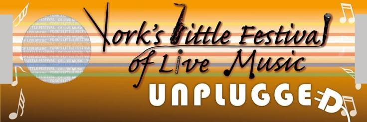 York's Little Festival of Live Music 2014 Logo