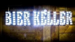 light up sign Stein Bier Keller, York