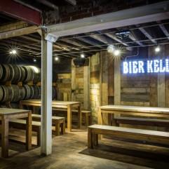 Authentic Bavarian décor, Stein Bier Keller, York