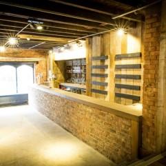 Huge wooden bar, Stein Bier Keller, York