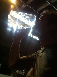 2 pint Stein at York German Bier Keller