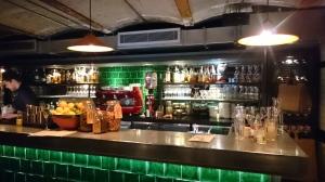 Jamie's Italian York bar area