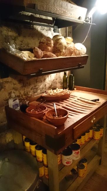 Jamie's Italian bread station