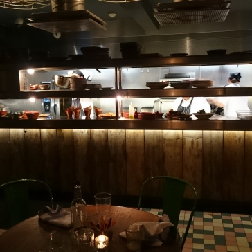 Jamie's Italian York open kitchen