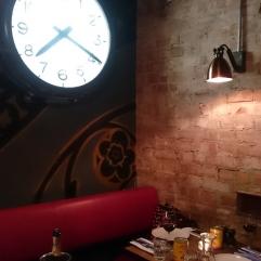 Jamie's Italian York clock
