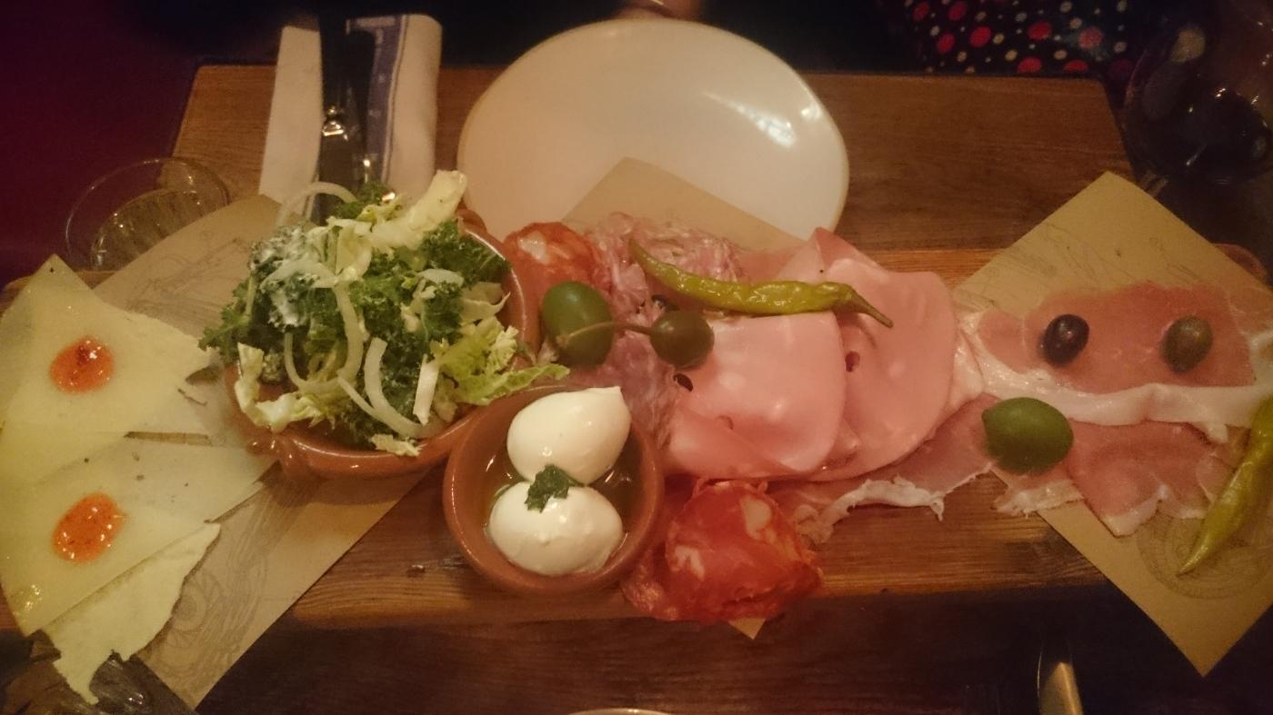 Jamie's Italian Meat Plank