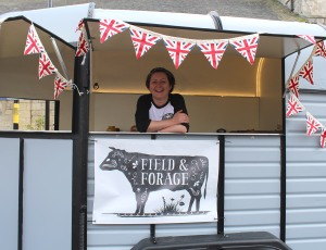 Malton Food Festival Field & Forage Van