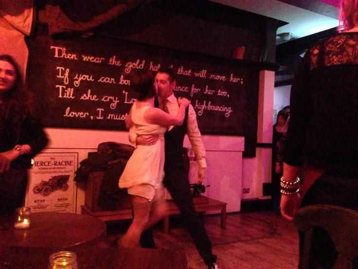 Gatsby & Daisy dance York