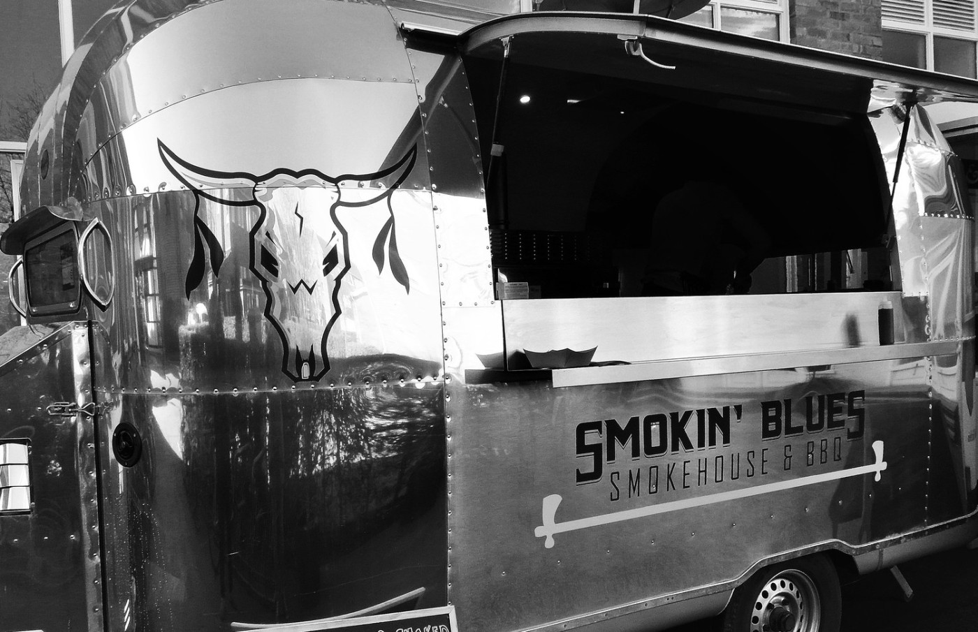 Smokin Blues York street food
