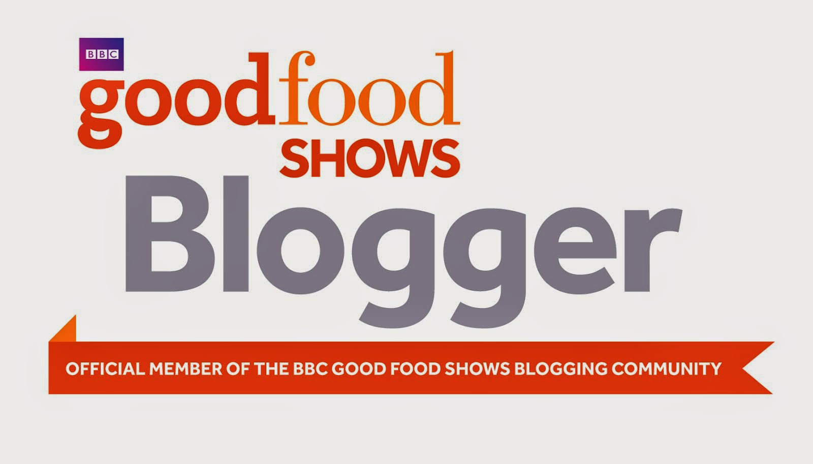BBC Good Food Show Blogger badge