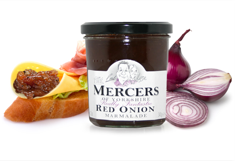 The Mercers of Yorkshire Red Onion Marmalade