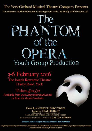 York Phantom of the Opera