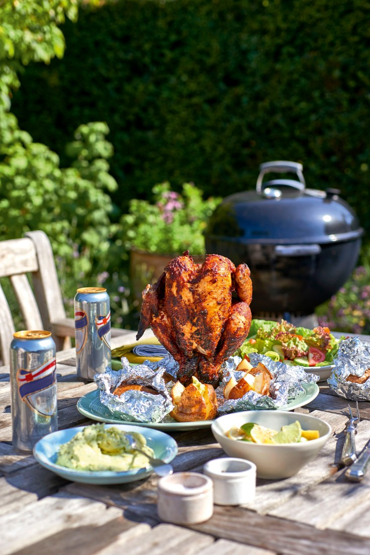 James Martin Beer Can Chicken