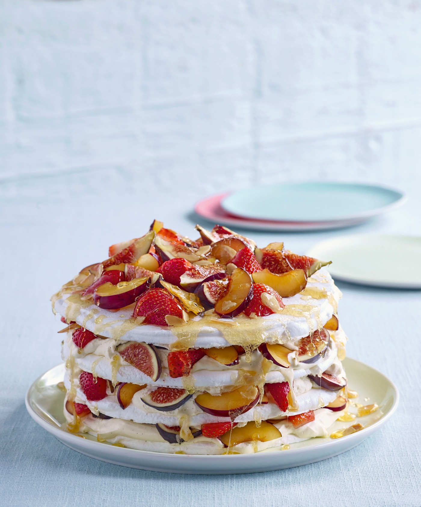 James Martin Fruit Meringue Gateaux