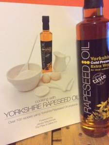 Yorkshire Rapeseed Oil Recipe Book