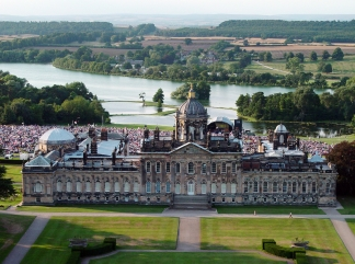 Prom Spectacular Castle Howard