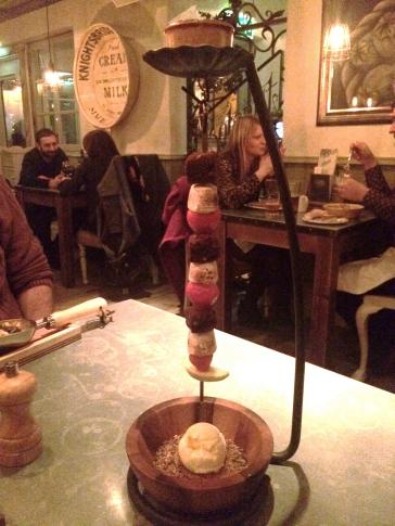 The Botanist York pudding kebab