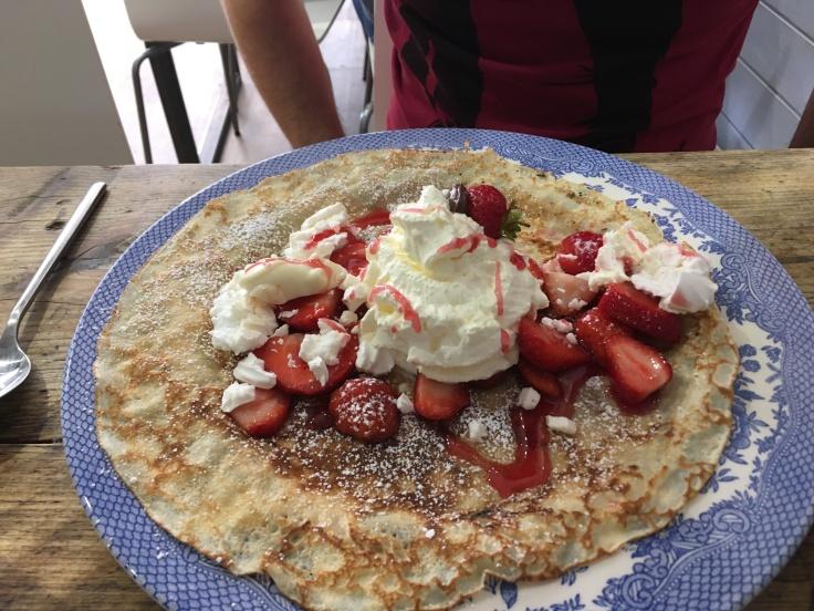 Eton Mess pancake York