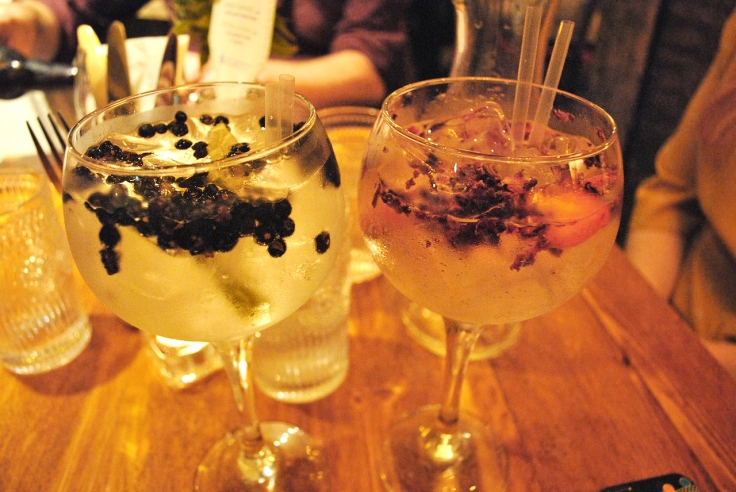 Joe's Kitchen Gin Specials