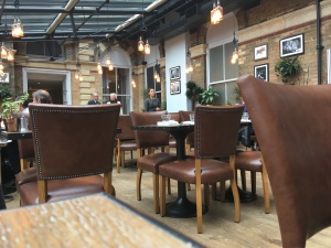 The Refectory York seating