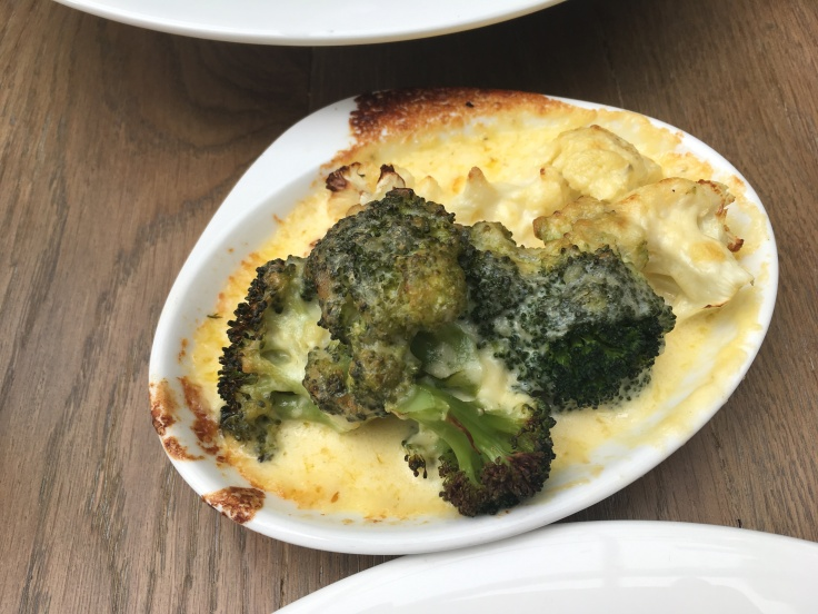 The Rectory york cauliflower and brocolli cheese