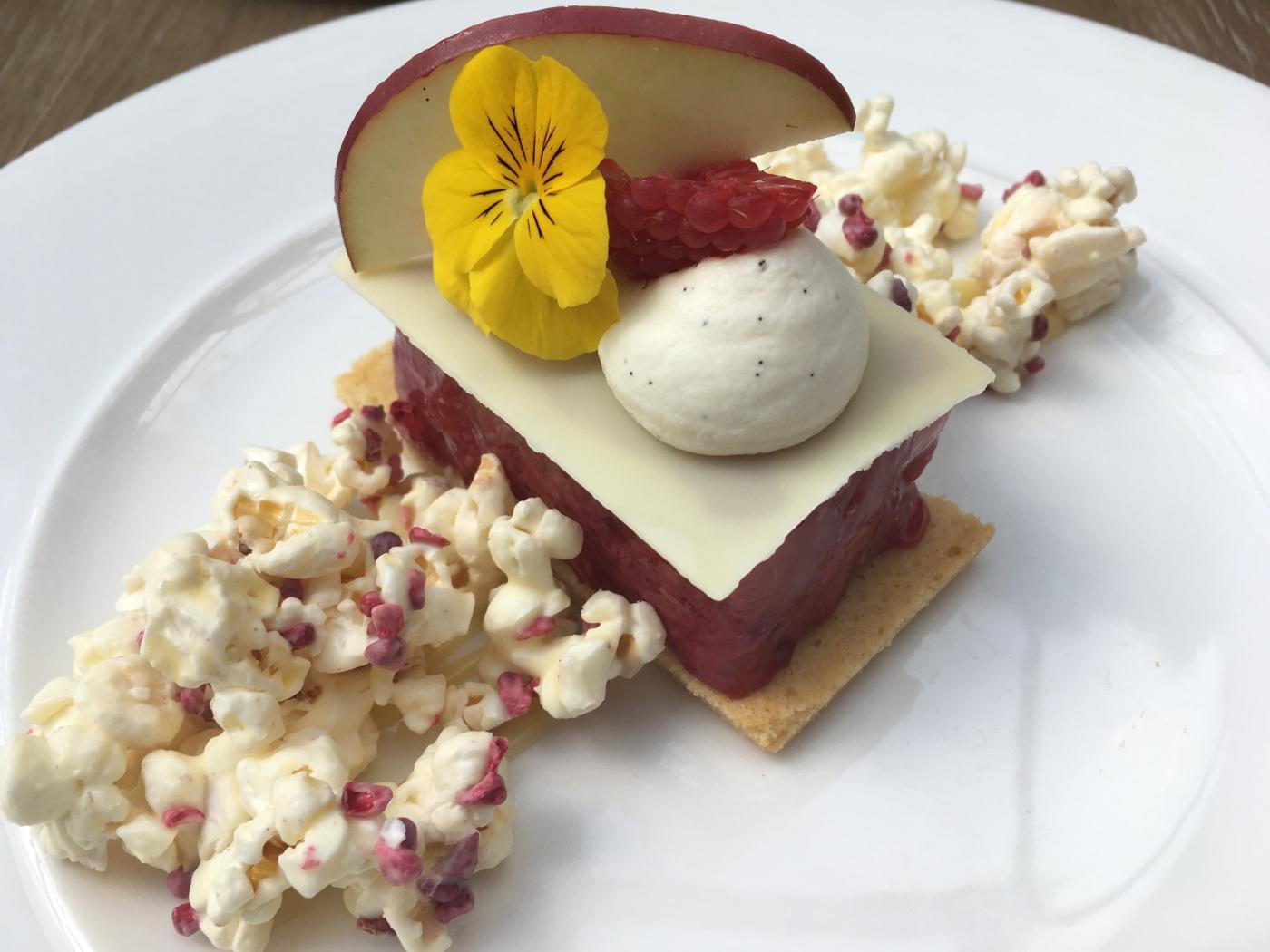The Refectory York Pink lady dessert