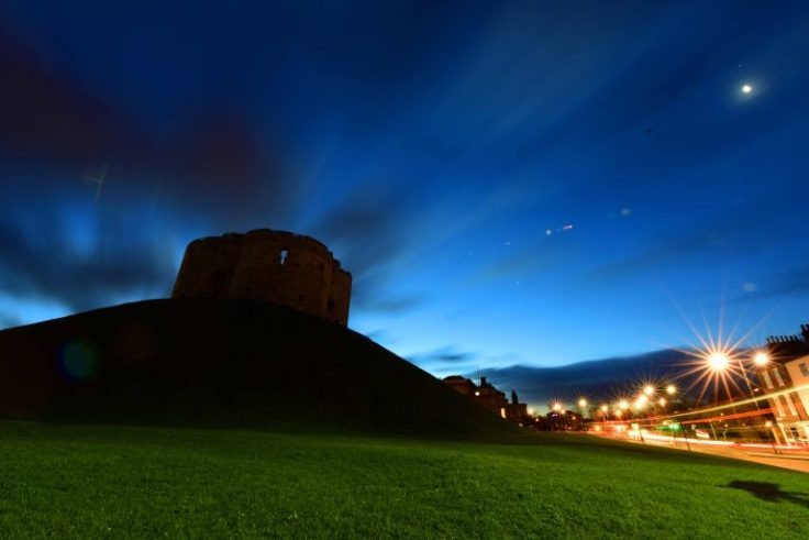 Illuminating York Clifford's Tower