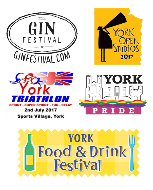 York Logos for 2017 Events