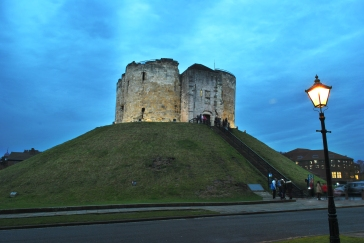 Clifford's Tower. Photo by Liz Cage