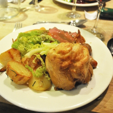 Complete roast dinner