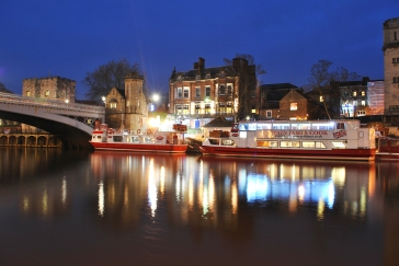 River Ouse / Lendal Bridge. Photo by Liz Cage