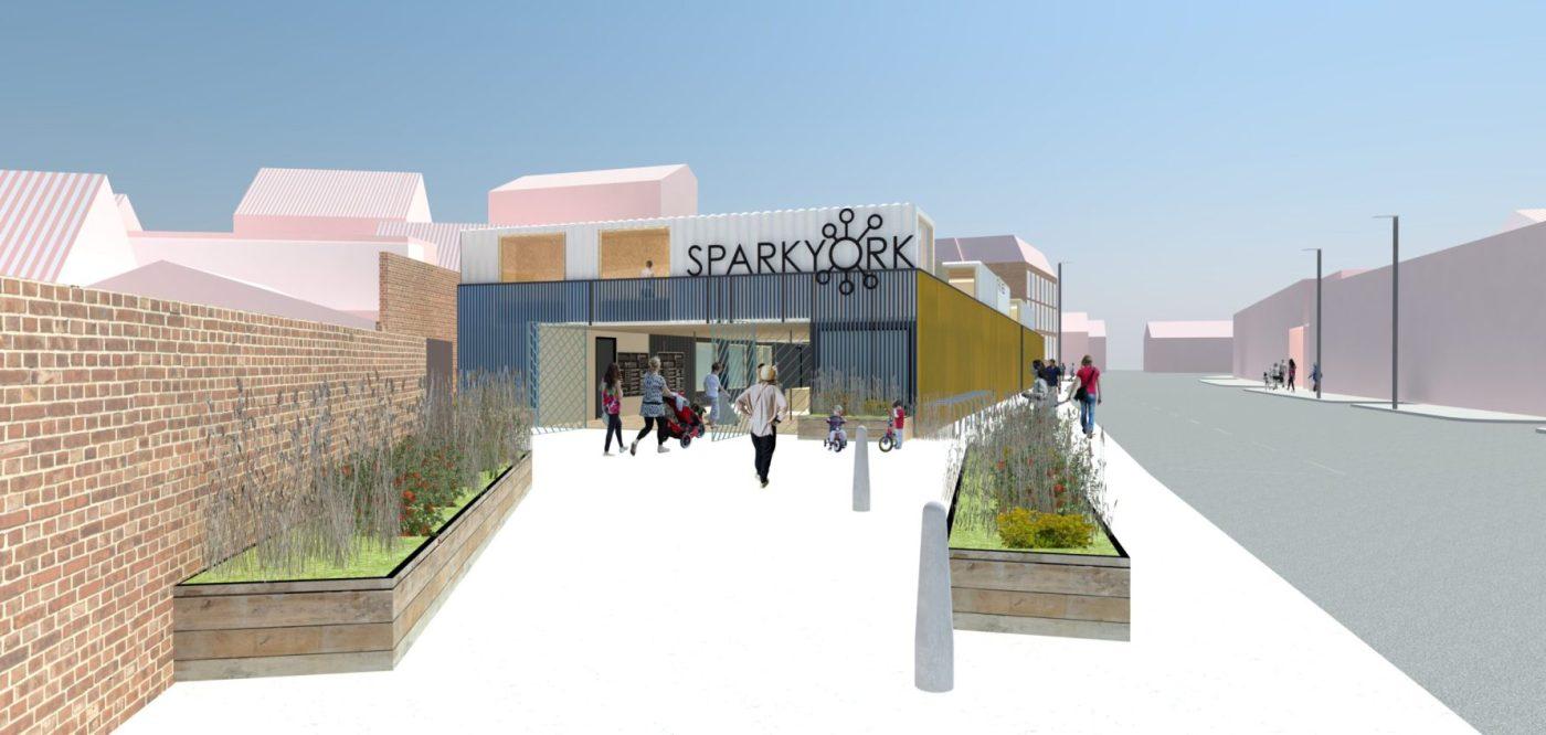 Spark York entrance